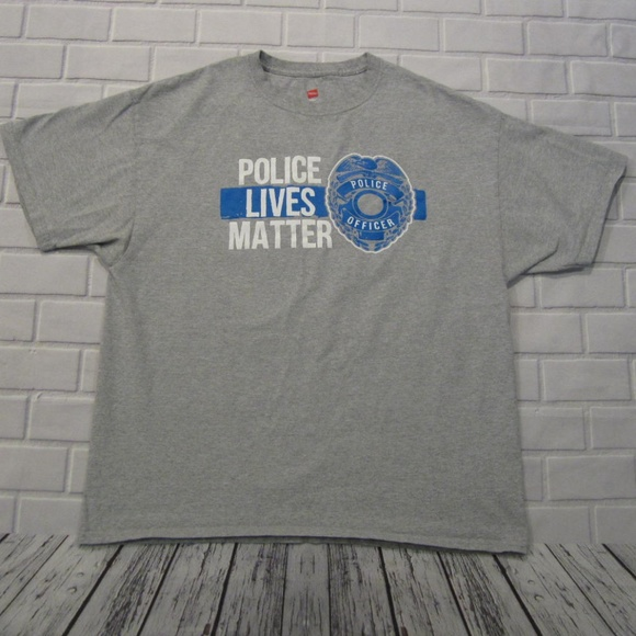 Hanes Other - Police Lives Matter Mens XL Hanes T Shirt
